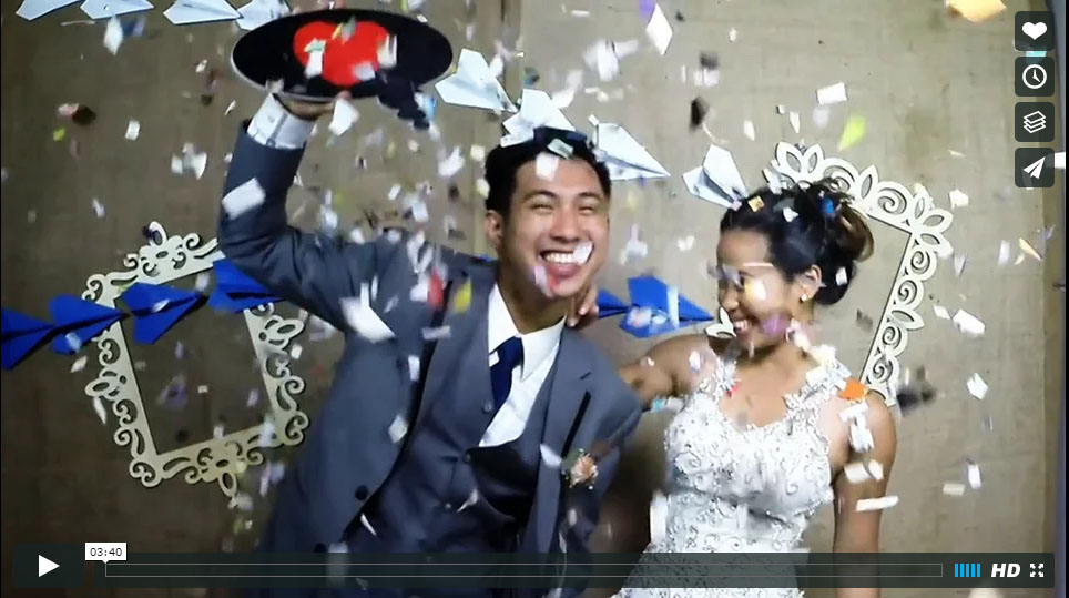 SlowMotion videobooth Taguig Philippines wedding